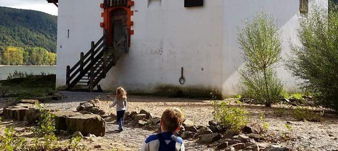 Ausflugstipp: die Pfalzgrafenstein bei Kaub am Rhein