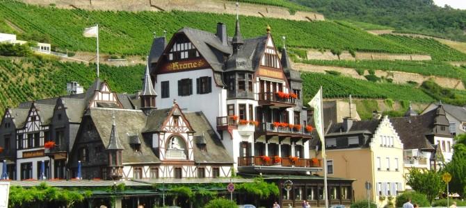 """""""Hotel Krone"""" in Assmannshausen – Bisher geschichtsträchtig – jetzt nur noch Geschichte?"""