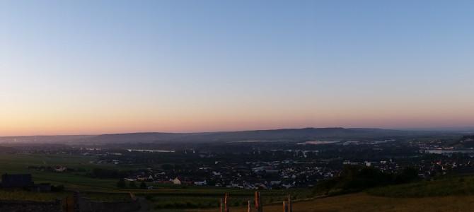 Morgens in Eibingen bei Rüdesheim