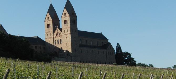 Meine Tage in der Abtei St. Hildegard  in Eibingen bei Rüdesheim.  Teil 1