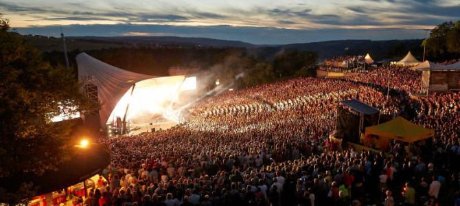 Die Loreley – hier spielt die Musik. Die Freilichtbühne im Weltkulturerbe
