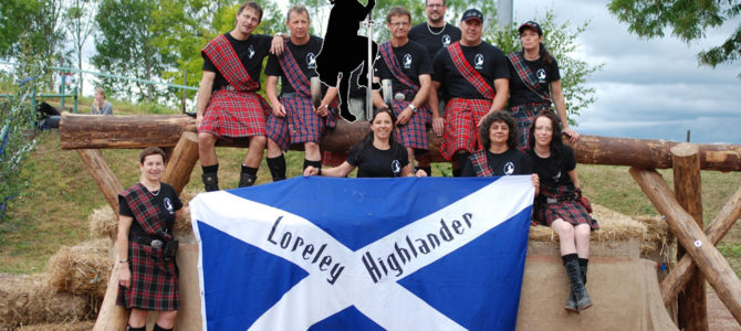 Ein Highlight – Die Highlander Games der Loreley-Highlander